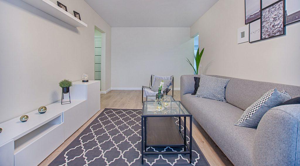 Tradicionális mintázatú modern nappali szőnyeg