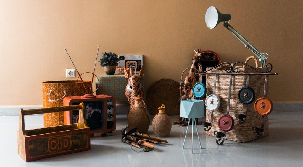 vintage kiegészítők és bútorok