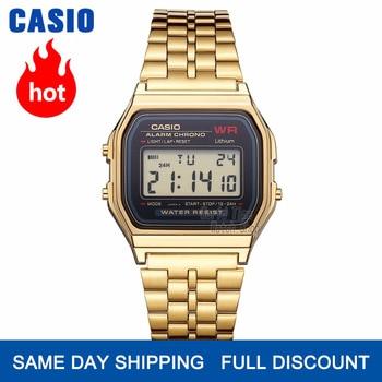 Casio férfi karóra, LED digitális vízálló kvarc