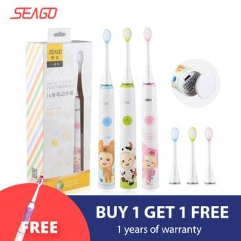 SEAGO elektromos fogkefe gyerekeknek