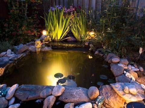 kerti tó világítás