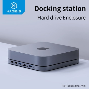 Hagibis USB-C , SATA merevlemez tok MacBook Pro, Mac mini docking station